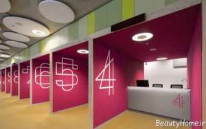 دیزاین داخلی آژانس هواپیمایی