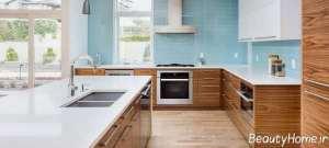 دکوراسیون داخلی آشپزخانه با چوب