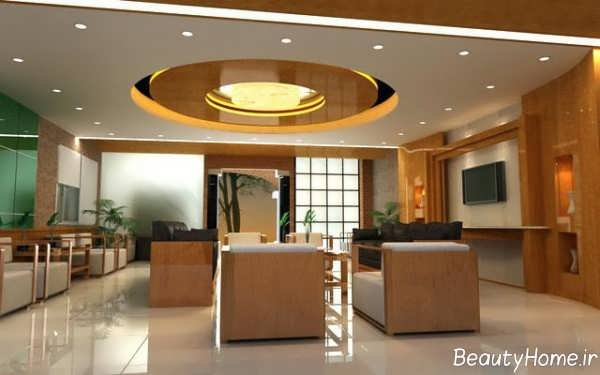 طرح های کناف سقف گرد و جذاب برای ساختمان های مسکونی و تجاری