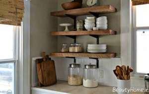مدل قفسه آشپزخانه