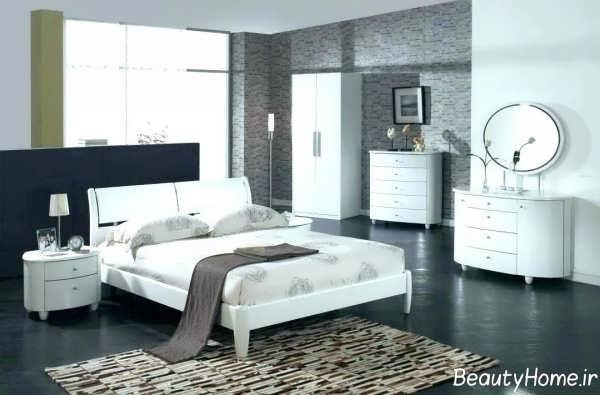 مدل سرویس خواب سفید و مدرن