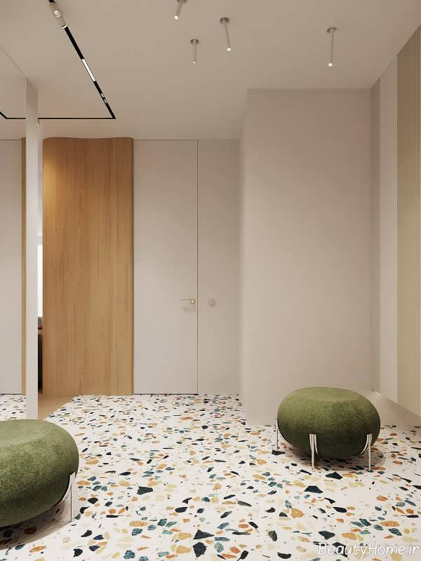 دکوراسیون مدرن و لاکچری در خانه آپارتمانی