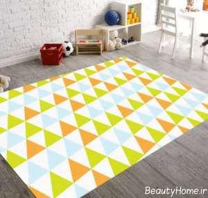 قالیچه شیک برای اتاق کودک
