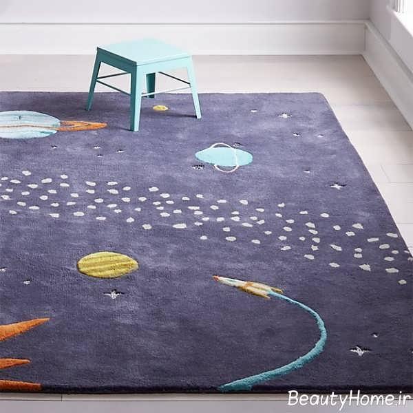 قالیچه طرح دار و شیک