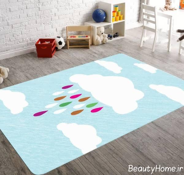 قالیچه شیک اتاق کودک