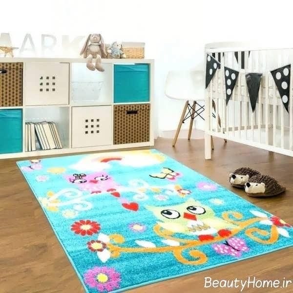 قالیچه شیک و فانتزی