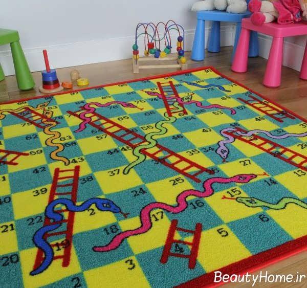 قالیچه طرح دار