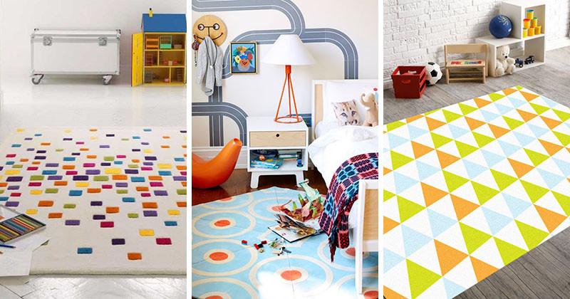 مدل قالیچه اتاق کودک