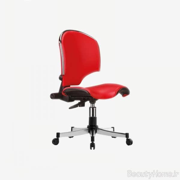 مدل صندلی قرمز کارمندی