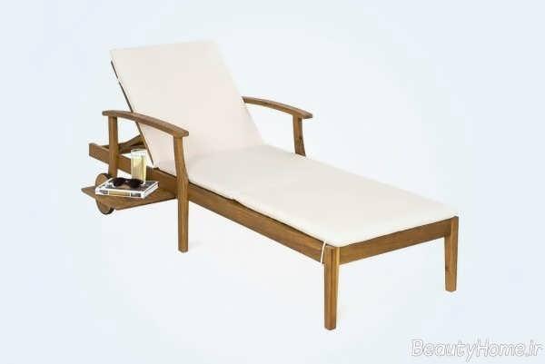 صندلی شیک و چوبی