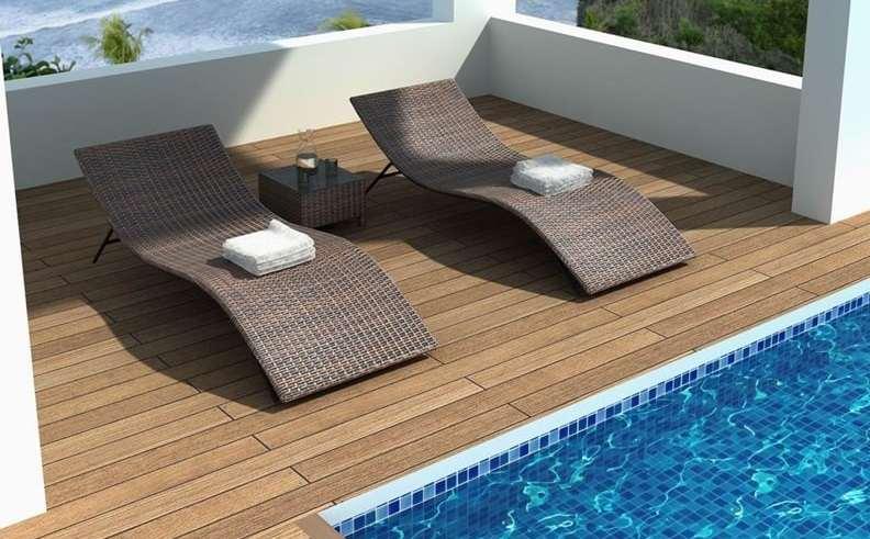 40 صندلی کنار استخر و حیاط با طراحی امروزی