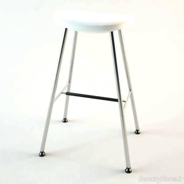 چهارپایه فلزی ساده