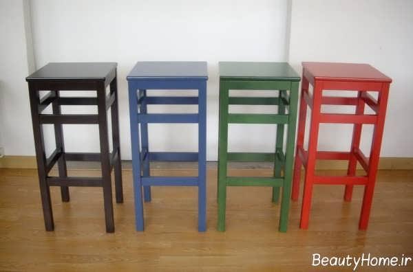 چهارپایه زیبا و ساده