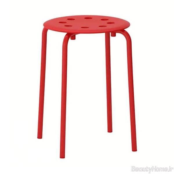 چهارپایه ساده پلاستیکی