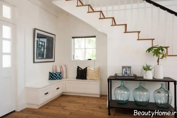 طراحی اتاق کوچک زیر راه پله ها