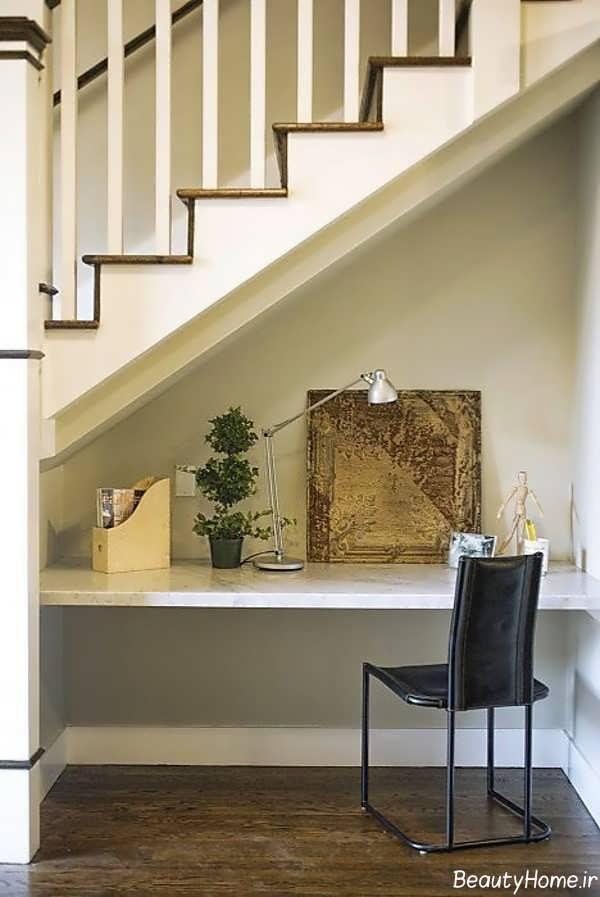 طراحی فضای زیر پله