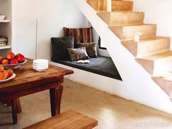 طراحی فضای زیر راه پله