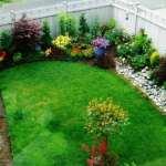 تزیین حیاط