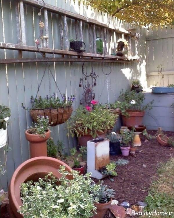تزیین حیاط منزل