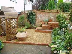 زیباسازی فضای حیاط