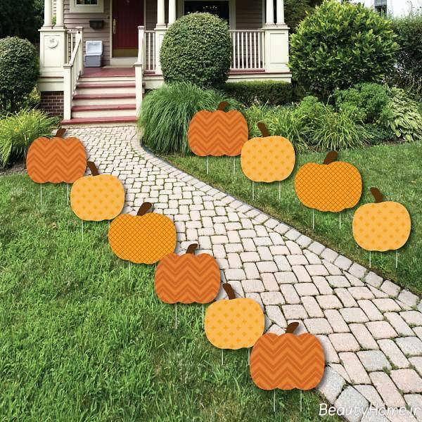 طراحی راهروی حیاط