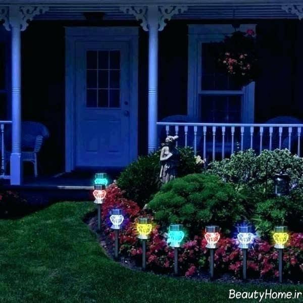 نورپردازی حیاط