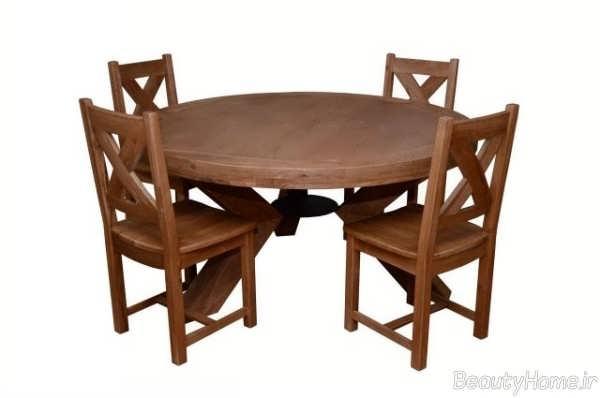 مدل میز غذاخوری 4 نفره