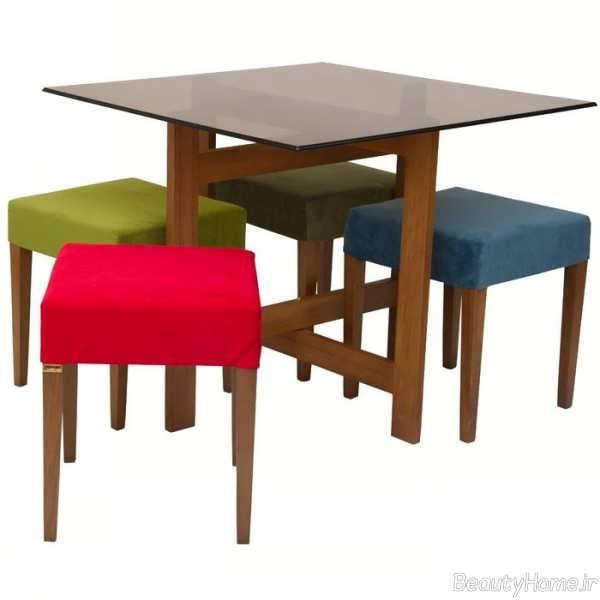 میز غذاخوری 4 نفره