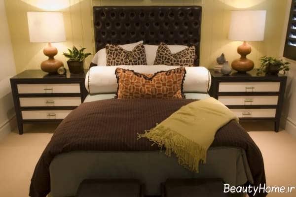 اتاق خواب پاییزی
