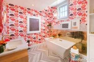 کاغذ دیواری حمام