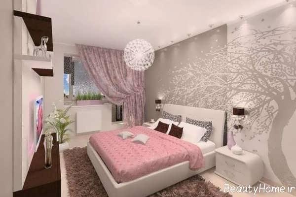طراحی شیک و خاص اتاق خواب