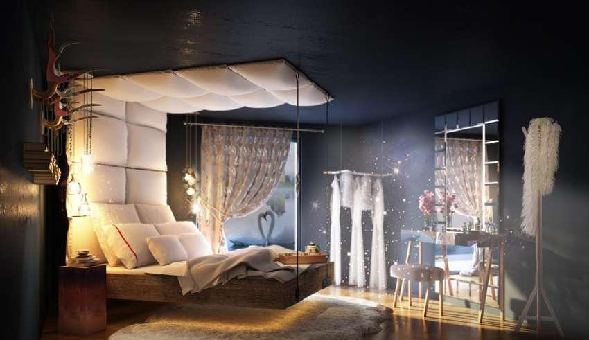 دکوراسیون اتاق خواب فانتزی و دوست داشتنی برای خانواده های جوان