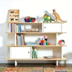 قفسه کتاب برای کودک