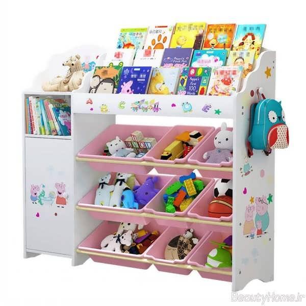 کتابخانه فانتزی برای اتاق کودک