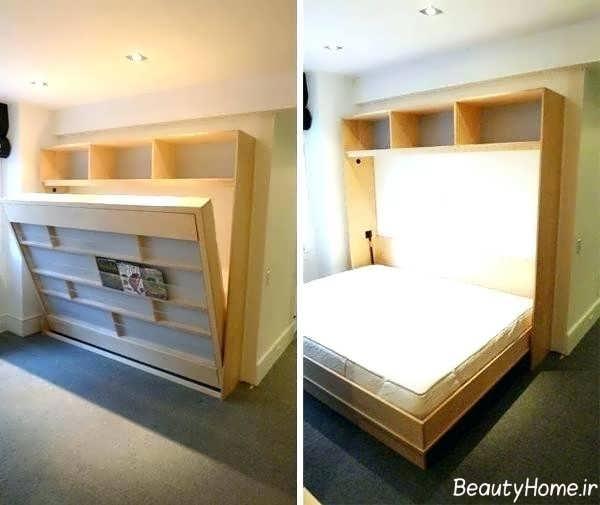 تخت خواب زیبا و مدرن