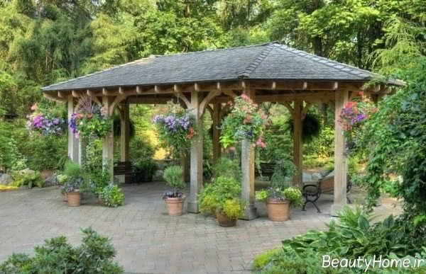 آلاچیق باغی در انواع طرح و مدل های زیبا و شیک