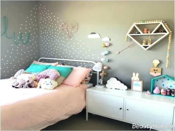 تزیین زیبا اتاق دخترانه
