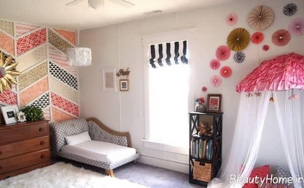 دکوراسیون داخلی اتاق دخترانه
