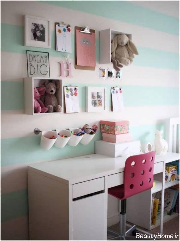 تزیینات زیبا اتاق دخترانه