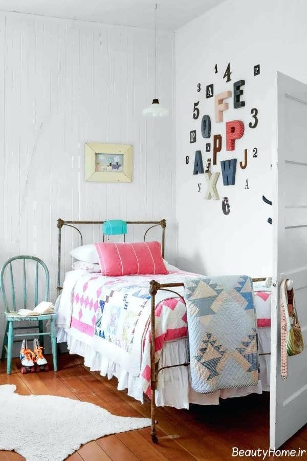 تزیین زیبا و خلاقانه اتاق دخترانه