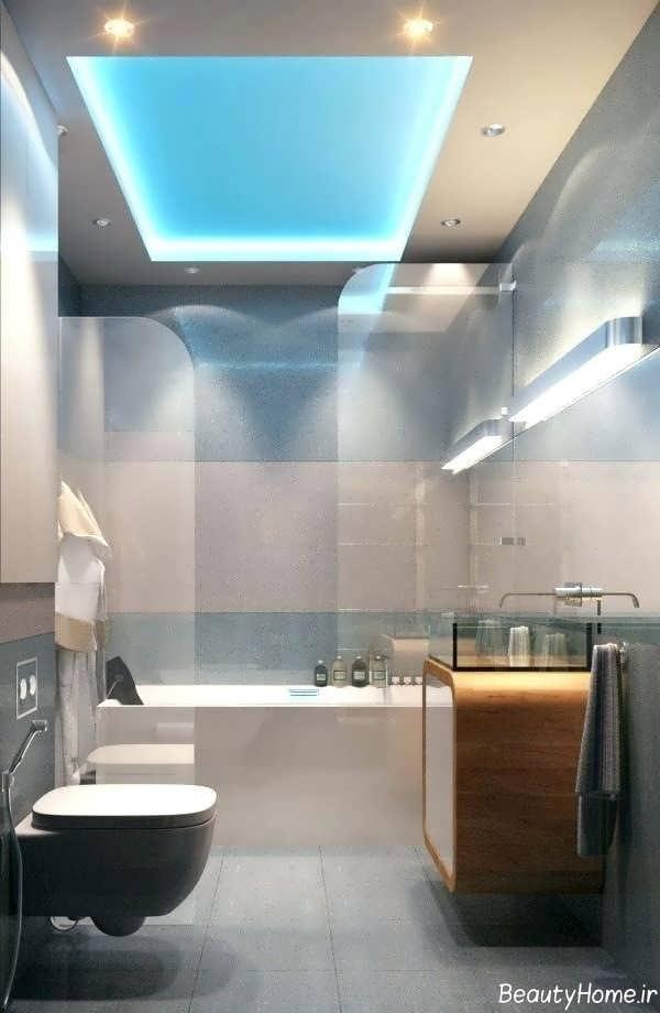 طراحی سقف برای سرویس بهداشتی