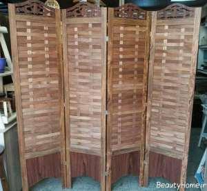 پارتیشن شیک و چوبی