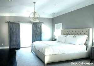 اتاق خواب نقره ای