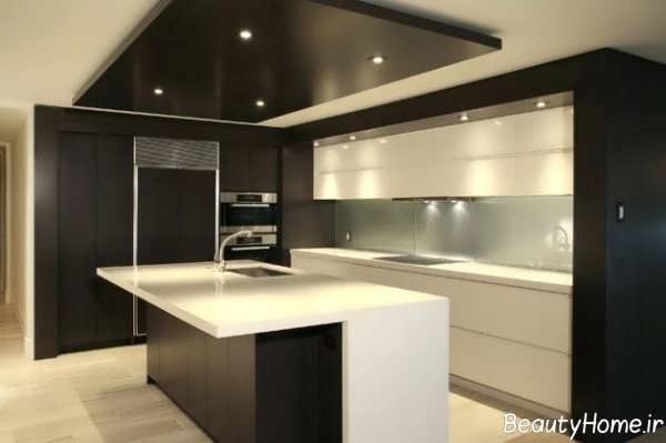 نورپردازی آشپزخانه کوچک