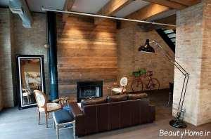 دکوراسیون مدرن و چوبی