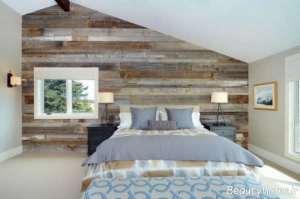 دکوراسیون چوبی اتاق خواب