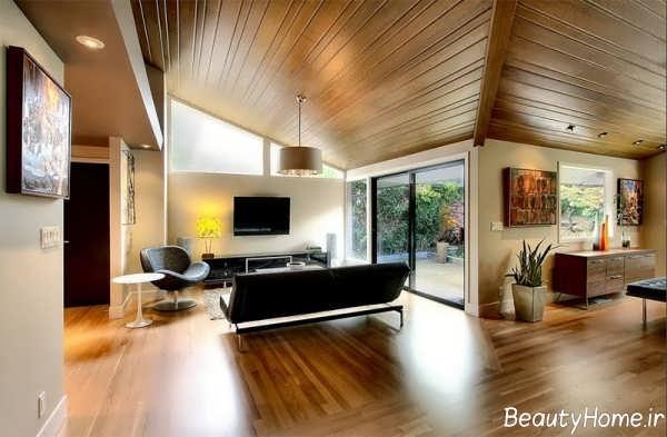 سالن پذیرایی چوبی