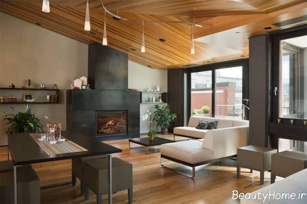 دیزاین داخلی چوبی