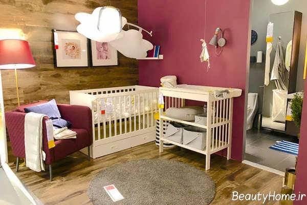 دکوراسیون اتاق خواب نوزاد