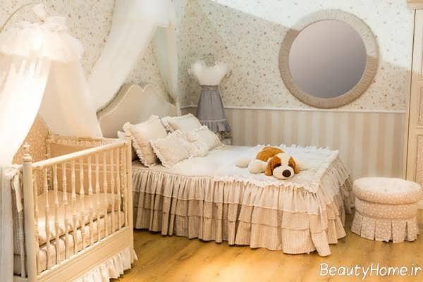 دکوراسیون کاربردی اتاق خواب نوزاد